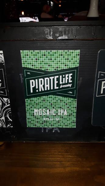 Pirate Life Brewing Mosaic IPA