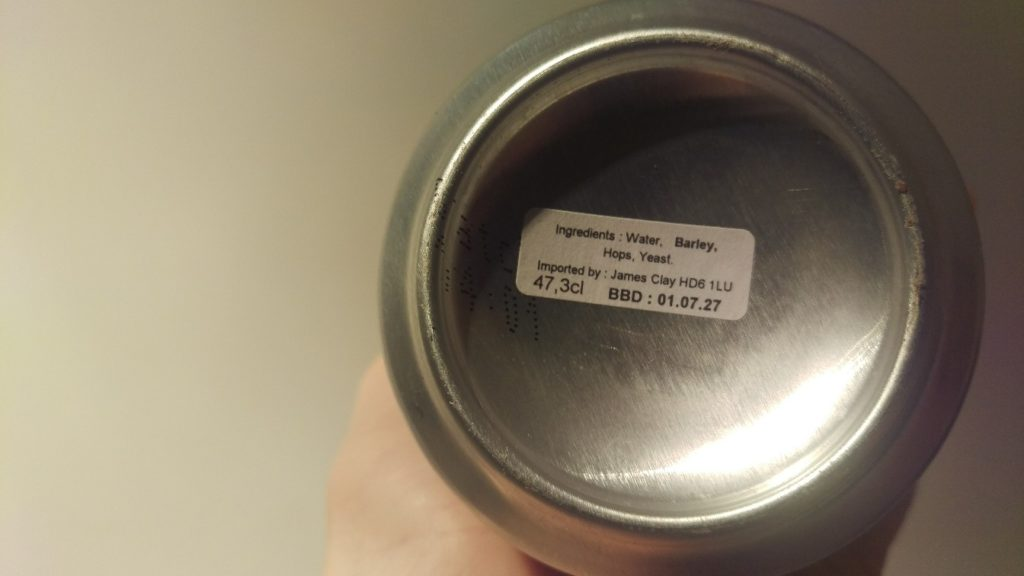 Bottom of the can of Even More Coco Jesus