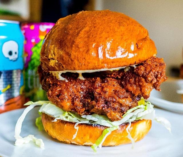 Bonehead Hothead burger