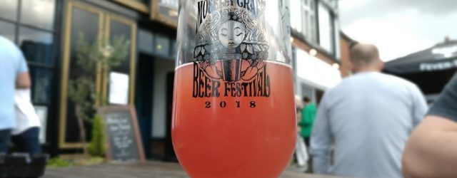 Quetsche Tilquin at Moseley craft beer festival 2018
