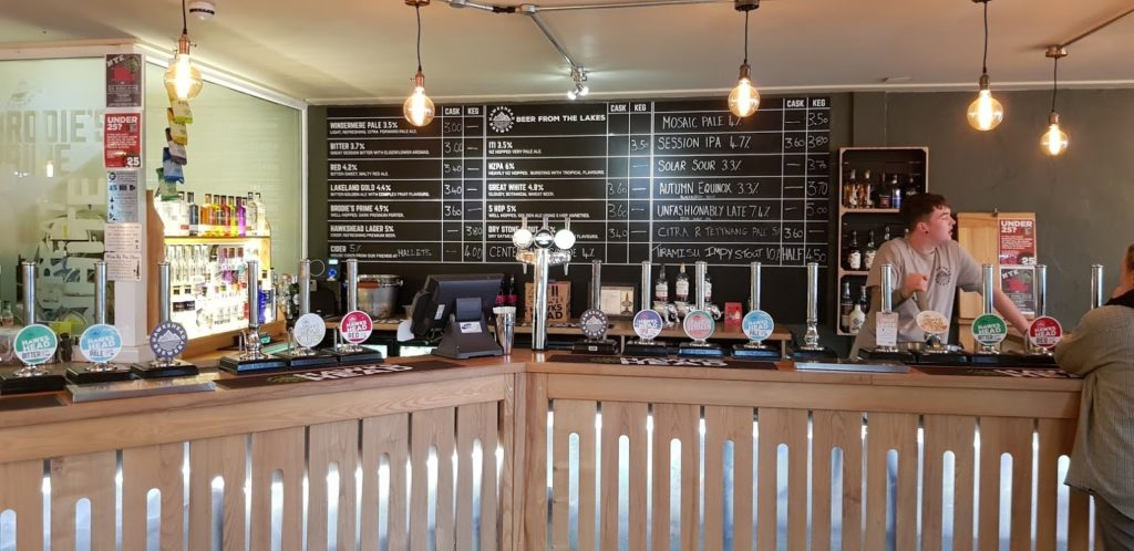 Hawkshead Beer Hall